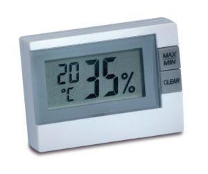 Mit günstigen Hygrometer die Luftfeuchtigkeit messen
